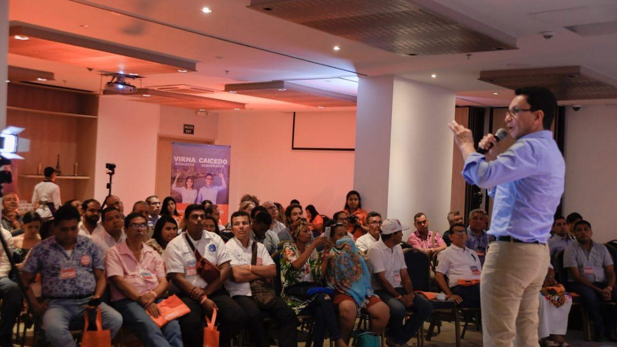 Una marca Departamento, el as con que Caicedo le apuesta a impulsar el empleo y el turismo en el Magdalena