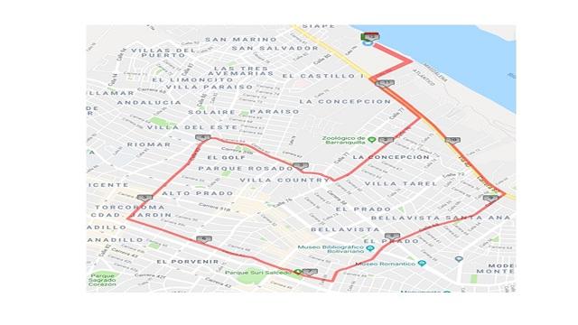 Por la Carrera KNU3 habrá cierre de vías este domingo 17 de noviembre de 2019