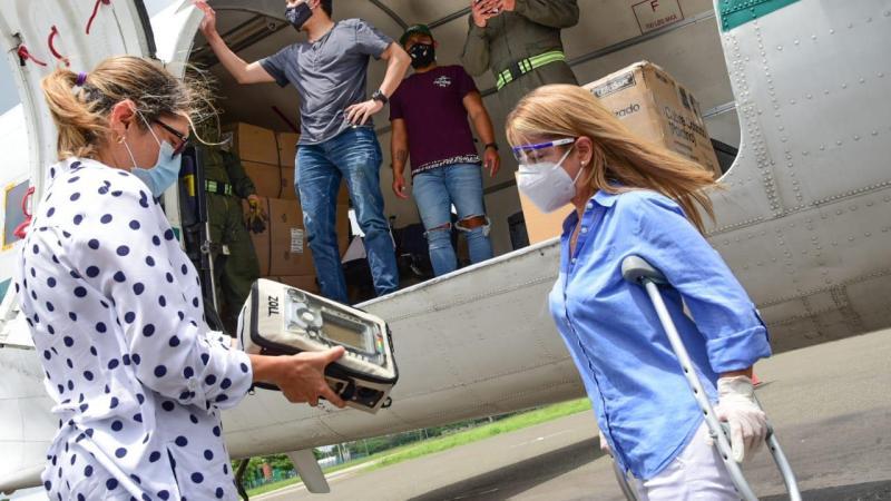 Con 50 ventiladores nuevos seguimos fortaleciendo la capacidad hospitalaria en el Atlántico: Elsa Noguera