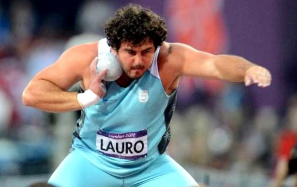Germán Lauro batió el récord sudamericano en lanzamiento de bala