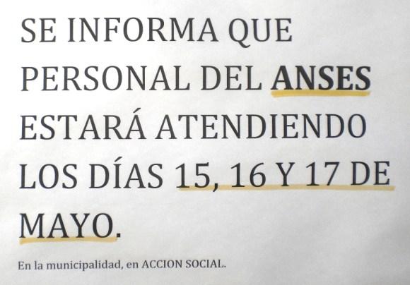 Atención de personal del ANSES en Iruya