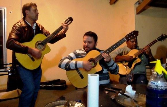 Santiago Roldán, Cristian Romero, Omar Olmedo