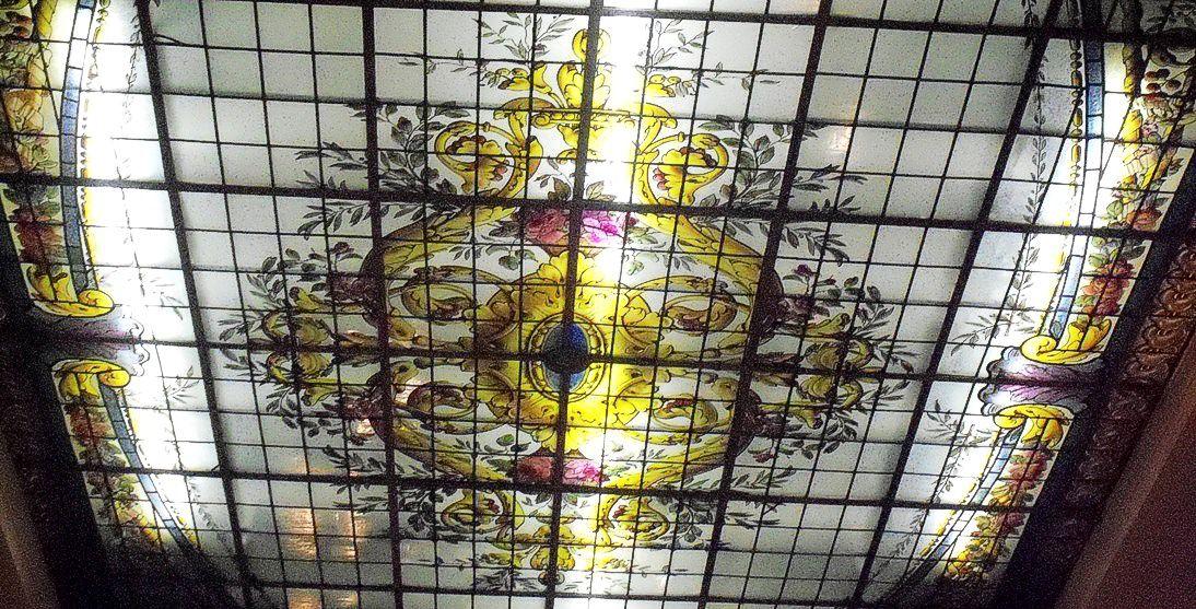 Detalle de los vitrales