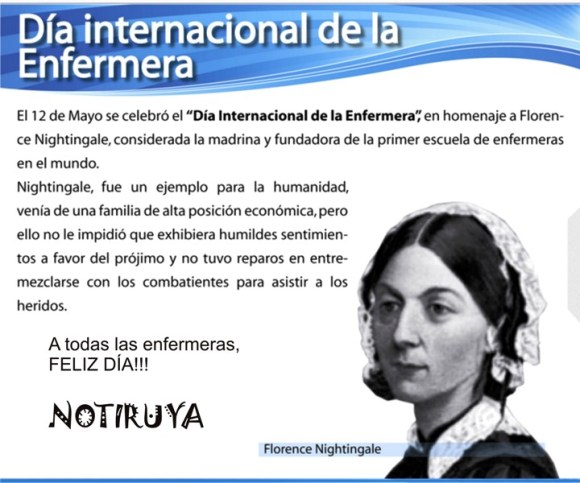 12 de mayo, Día Internacional de la Enfermera