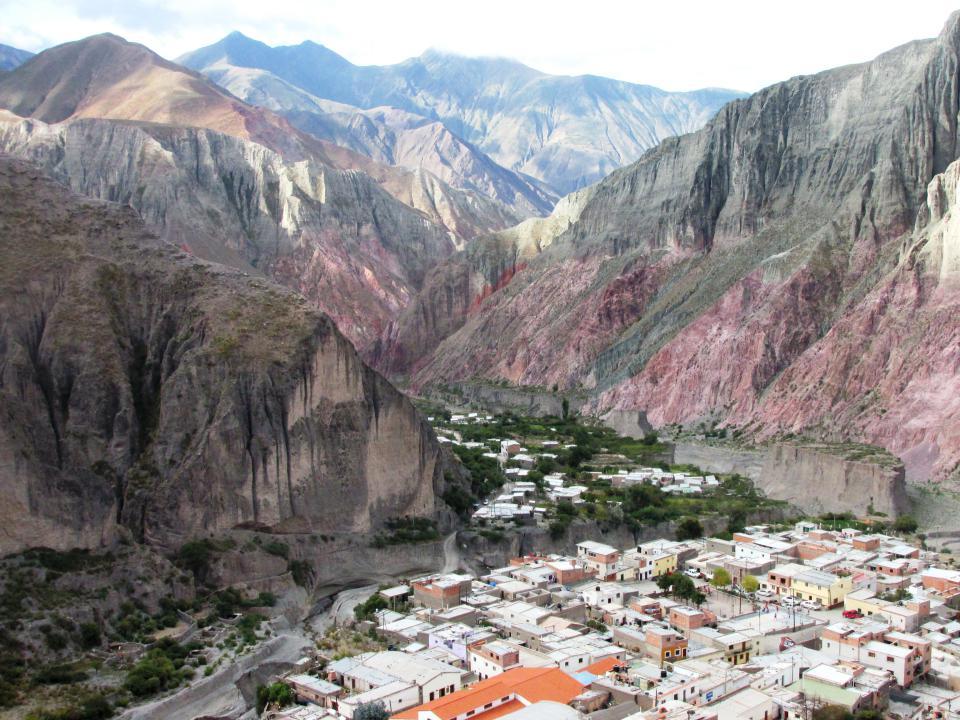 Vista de parte del Barrio Centro, Barrio La Tablada y Barrio Medalla Milagrosa. (Foto: Pablo Harvey).