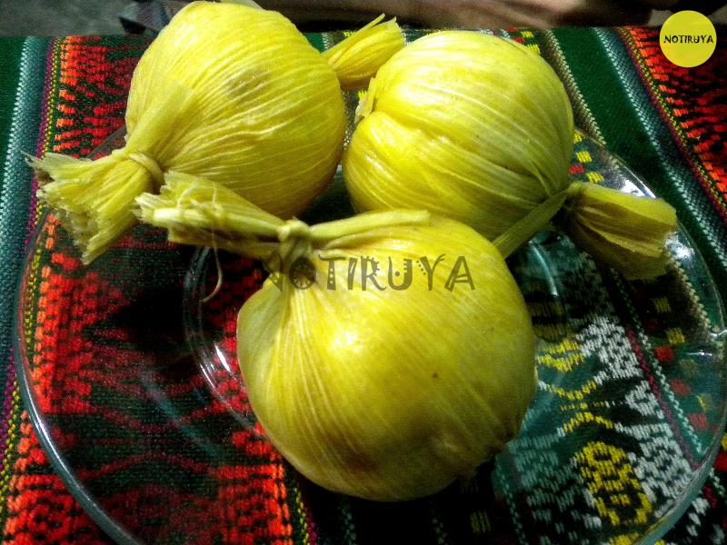 Tamales de Iruya.
