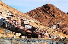 Inmediaciones de la empresa minera Inti Raymi