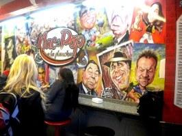 Figuras de la cultura nacional en los murales de Nac&Pop