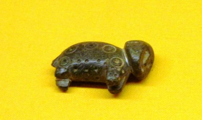 Una talla en piedra de los antiguos habitantes de Iruya.