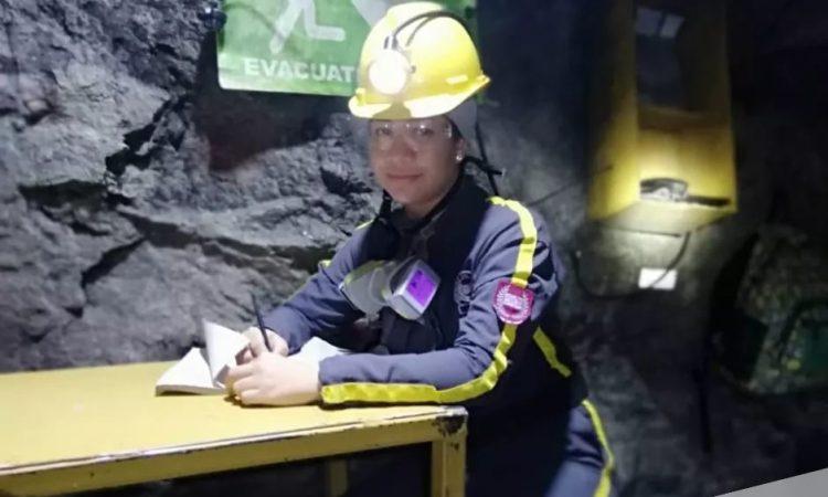 mujer minera