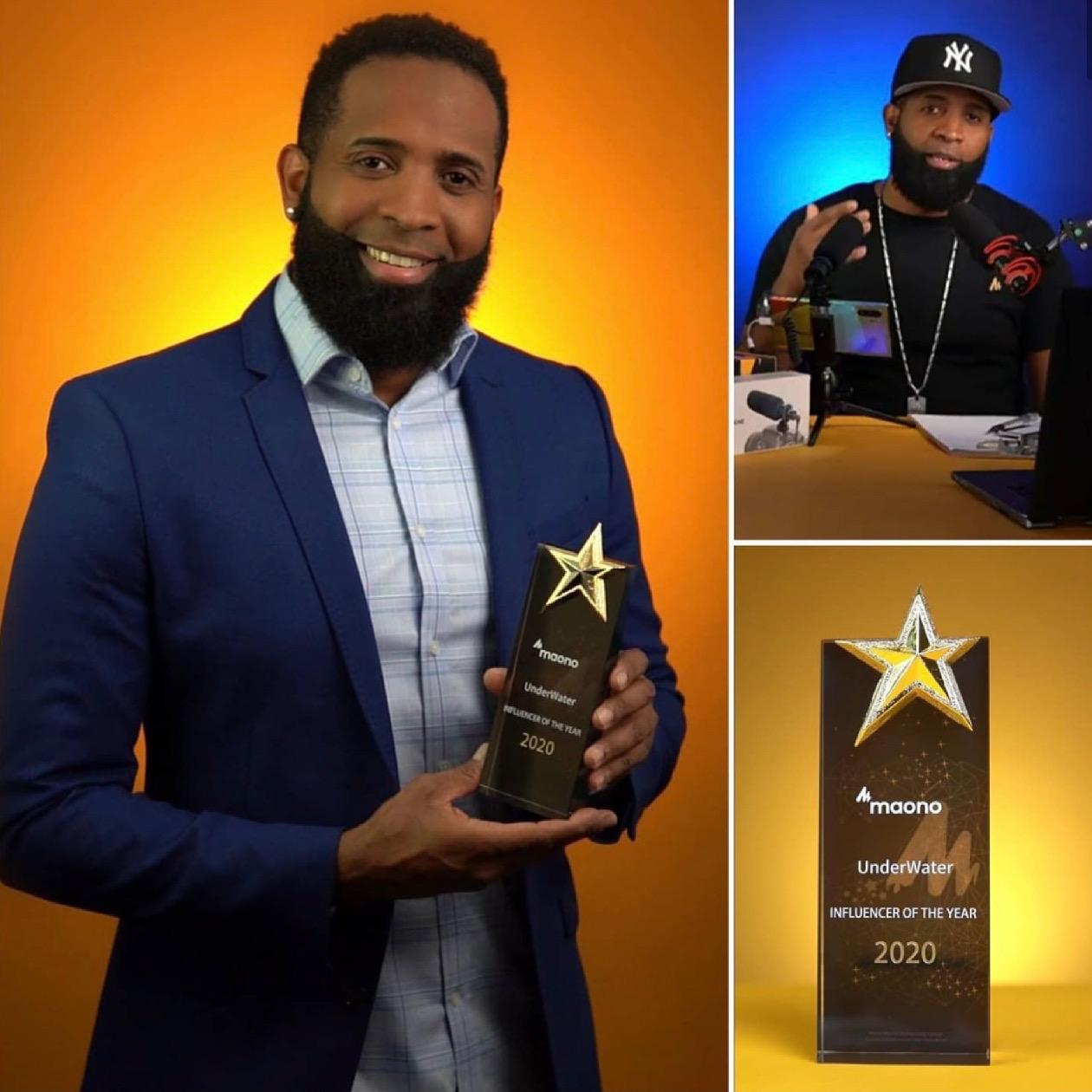Maono otorga premio influencers del año 2020 a dominicano radicado en Boston