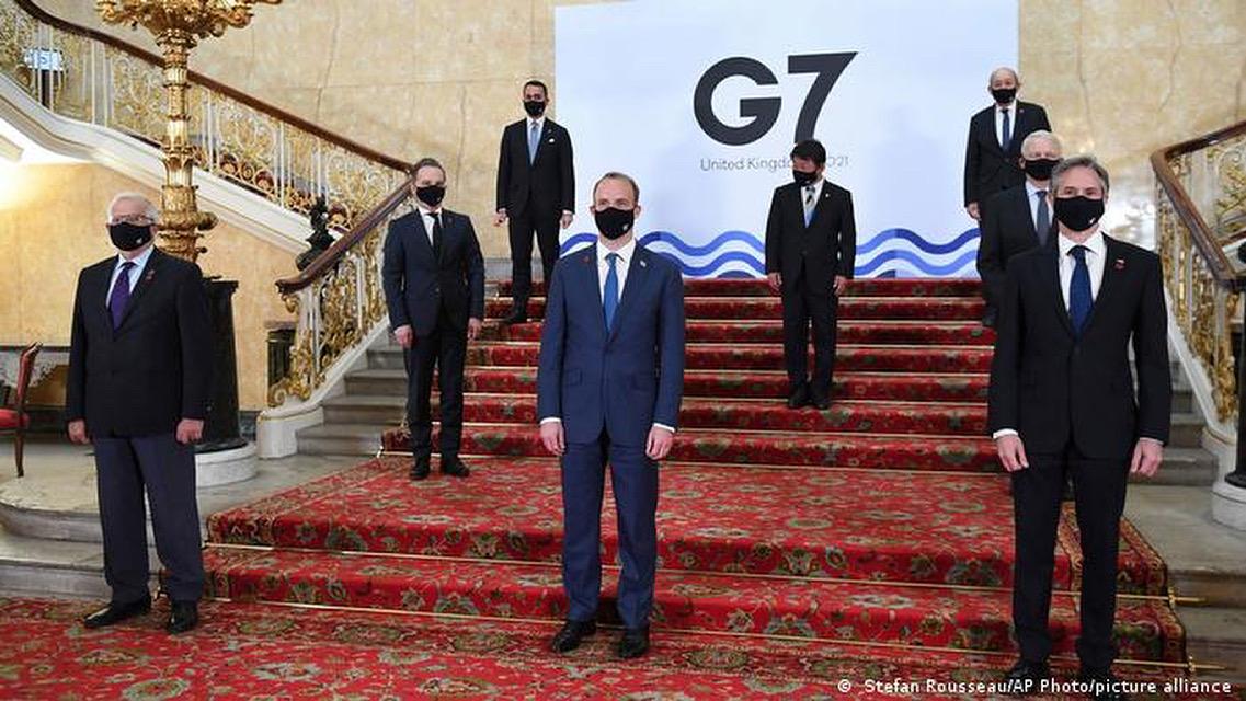 El G7 se compromete a distribuir mil millones de vacunas del covid-19 a países pobres