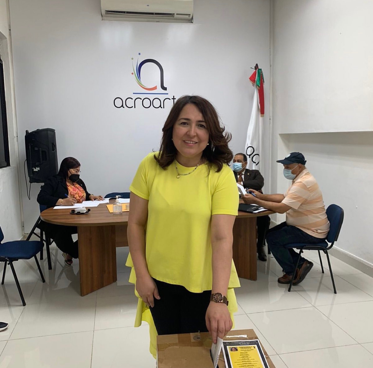 Emelyn Baldera es electa presidenta de Acroarte para período 2021-2023