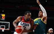 Kevin Durant guía triunfo de EEUU sobre Australia e irá por su cuarto oro olímpico consecutivo
