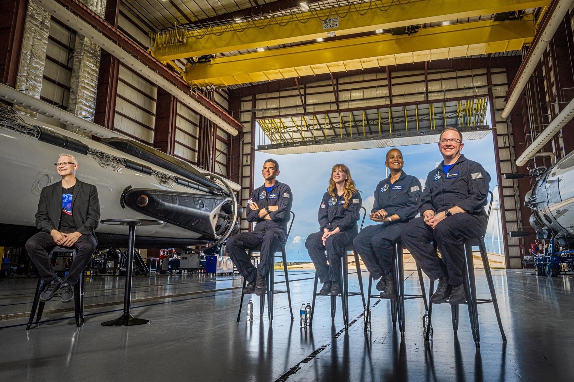 """La misión espacial de la """"gente común"""" está lista para partir"""