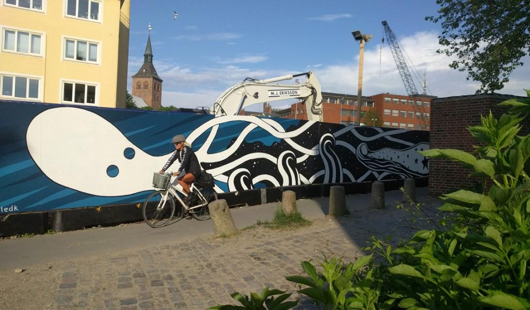 Mural, Albanigade in Odense