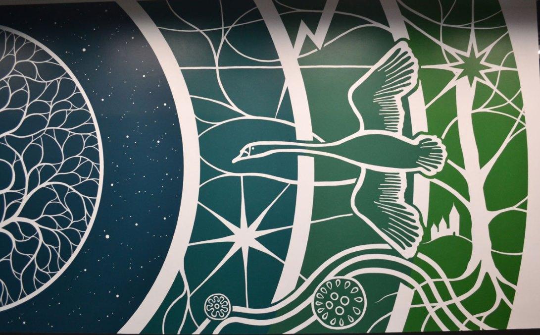 Facebook Datacenter Denmark Mural