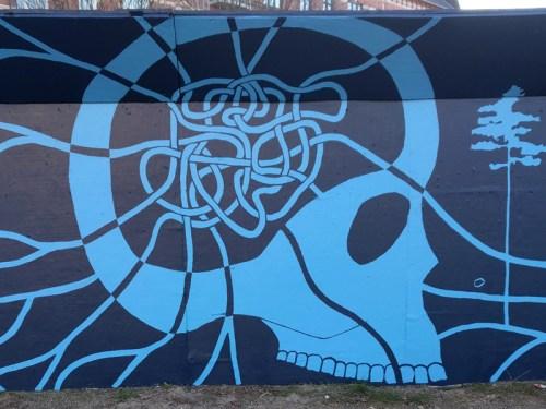 Vægmaleri Nørrebro København