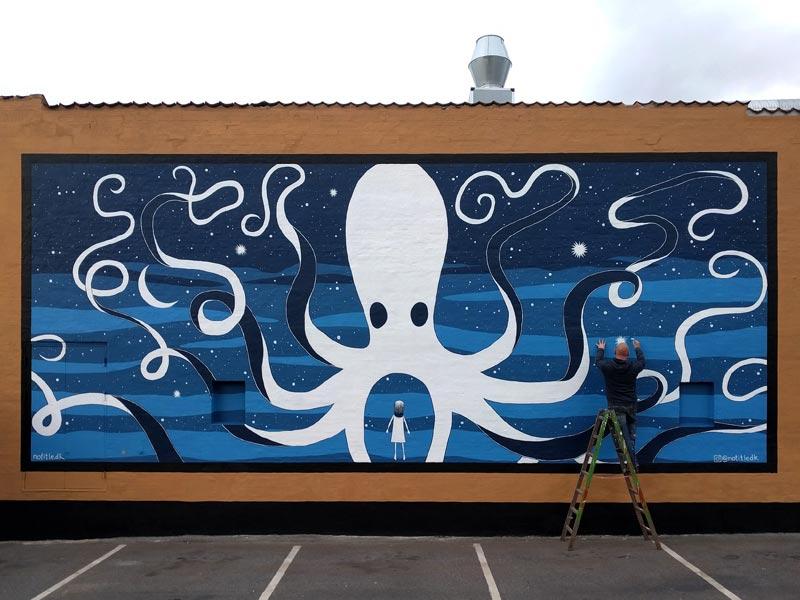 Mural Roskilde Street Art Denmark