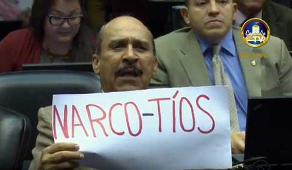 """""""Narco-tíos""""   Foto: NotiTotal"""