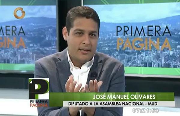 José Manuel Olivares | Captura de video
