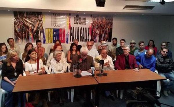 Artistas invitan a los venezolanos a marchar este 19A | Foto: @joseolivaresm