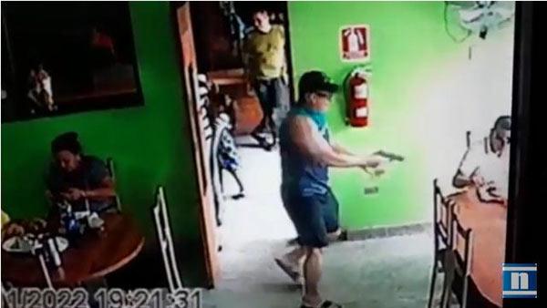 En Video Así Asesinaron A Jefe De Mafia Fronteriza En