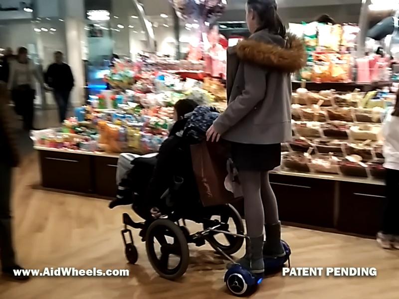 sillas de ruedas hoverboard  Notizalia