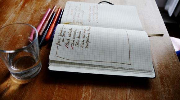 Bullet Journal Notizbuch Info Tipps und Tricks