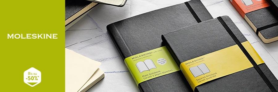 Moleskine Notizbuch und Organizer günstiger kaufen