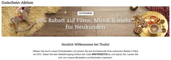 thalia.de Gutschein November 2017