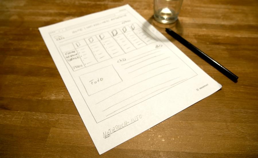 Skizzenvorlage kostenlos notizbuch-info.de