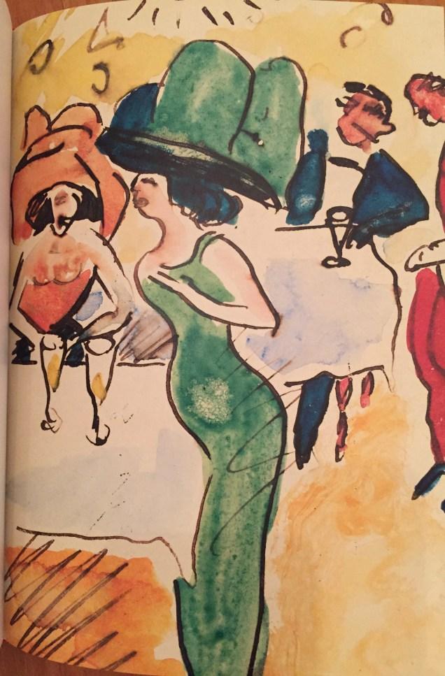 Max Pechstein, Im Café, 1910| Foto: nw2017