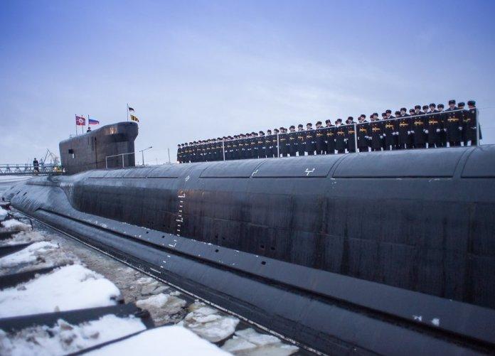 La Russia vara il sottomarino più potente per attacchi nucleari