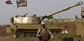 Esercito Iraq vicino alla città vecchia di Tal Afar. E' ultima roccaforte Isis in Iraq.