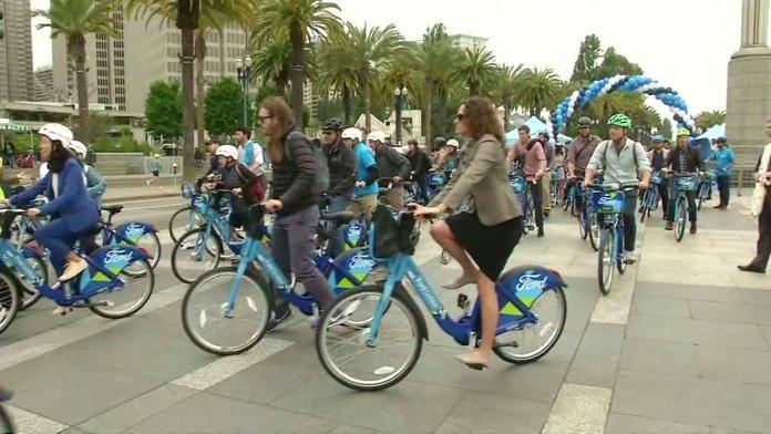 Come funziona il bike-sharing di San Francisco