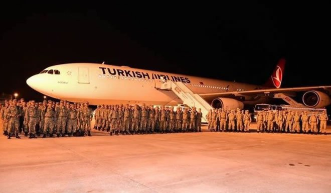 Turchia apre base militare in Somalia