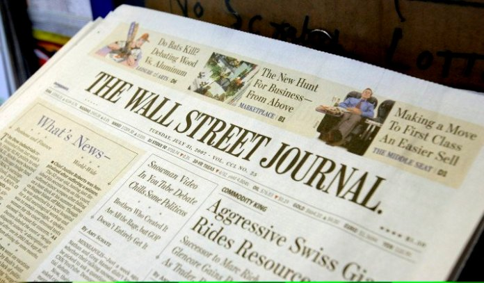 Il celebre quotidiano Usa Wall Street Journal chiude le edizioni europee e asiatiche cartacee.