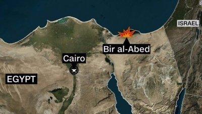 attacco a mosche in Egitto 235 morti