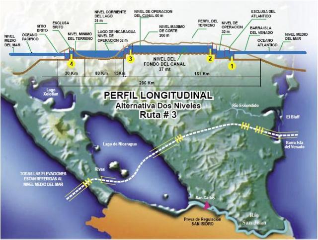 Canale Nicaragua e geopolitica cinese