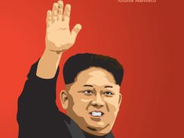 Romanzo fantasy di un'Italia stalinista alleata di Kim