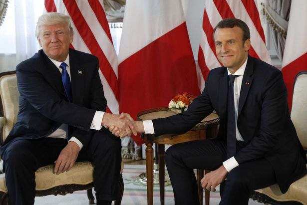 Macron è il Tony Blair di Trump
