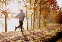 Benefici della corsa in autunno
