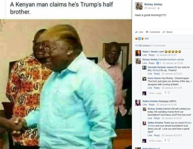 Il fratellastro di Trump