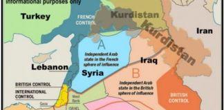 Un secolo fa Francia e Gran Bretagna si divisero il Medio Oriente