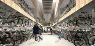Come l'Olanda risolve il problema dei posteggi delle bici