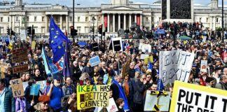 Brexit un milione in piazza