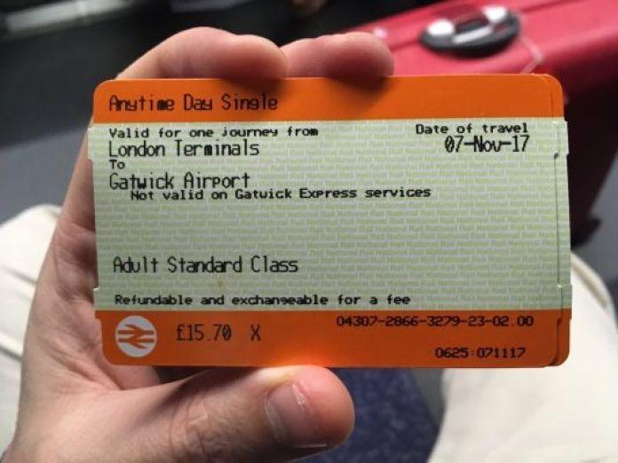 Ticket Thameslink