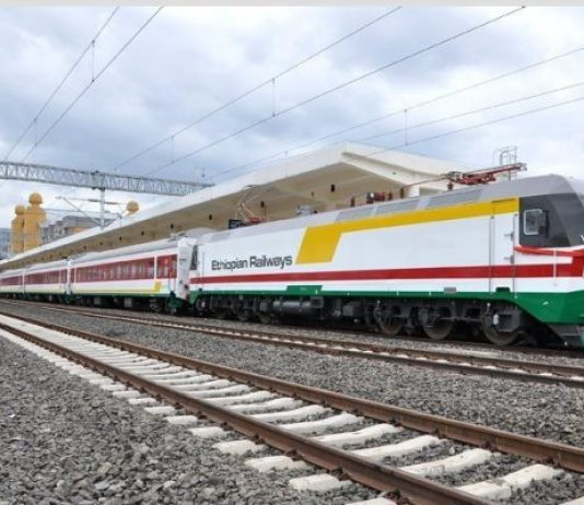 come andare dall'Etiopia al Gibuti in treno
