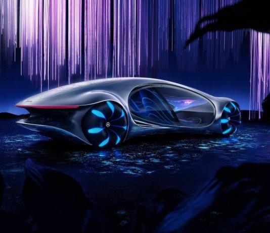 Mercedes Vision Avtr: breaking through on the future
